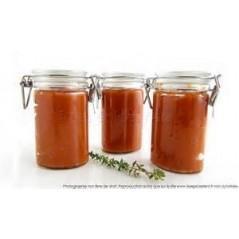 Coulis de tomates nature et au basilic