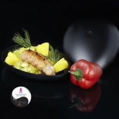 Salade  d'agrumes et de crevettes roses