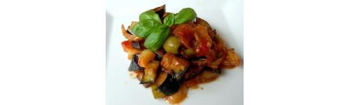 Nos salades cuites et nos snacks de légumes chauds